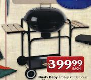 Special Bush Baby Trolley Kettle Braai-57cm — www.guzzle.co.za