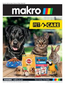 Makro : Pet Care (07 February - 07 March 2021)