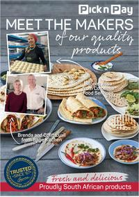 Pick n Pay : Meet The Makers Of Our Quality Products (4 Mar - 30 Mar 2019)