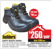 Builders Safety Boots/Shoes-Per Pair