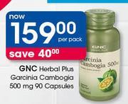 Special Gnc Herbal Plus Garcinia Cambogia 500 Mg 90 Capsules Per