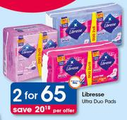 Libresse Ultra Duo Pads-For 2