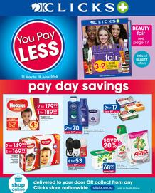 Clicks : You Pay Less (31 May - 18 June 2019)