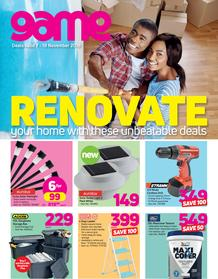 Game : Renovate Your Home With These Unbeatable Deals (7 Nov - 18 Nov 2018)