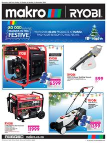 Makro : Ryobi (18 October - 16 November 2020)