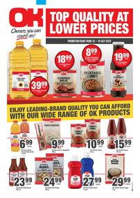 OK Foods : Top Quality At Lower Prices (15 July - 19 July 2020)