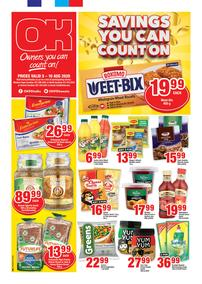 OK Foods : Savings You Can Count On (05 August - 10 August 2020)