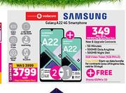 Samsung Galaxy A22 4G Smartphone-Each