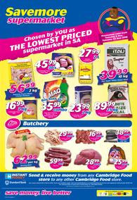 Cambridge Food : Savemore Supermarket (8 May - 22 May 2018)