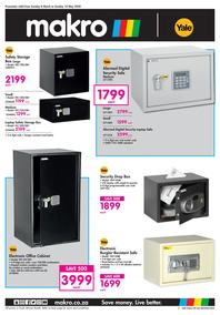 Makro : Security (08 March - 10 May 2020)