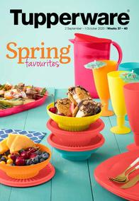 Tupperware : Spring Favourites (02 September - 01 October 2020)