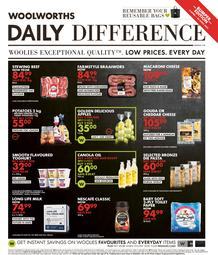 Woolworths Gauteng, Northern Cape, Limpopo, Mpumalanga, Free State & North West : Daily Difference (05 April - 25 April 2021)
