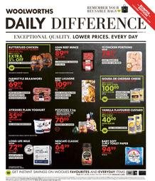 Woolworths KwaZulu-Natal : Daily Difference (05 October - 25 October 2020)