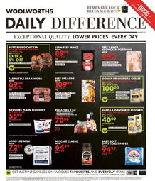 Woolworths Western Cape : Daily Difference (05 October - 25 October 2020)