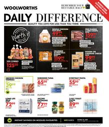 Woolworths Western Cape : Daily Difference (22 June - 5 July 2020)