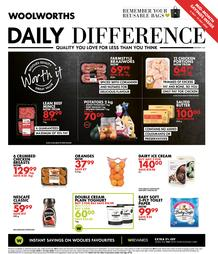 Woolworths Western Cape : Daily Difference (06 July - 19 July 2020)