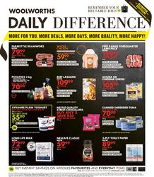 Woolworths Western Cape : Daily Difference (09 November - 22 November 2020)