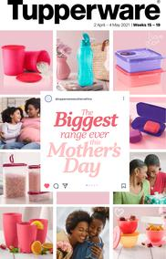 Tupperware : Biggest Range (02 April-04 May 2021)