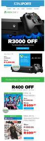 Total Sports : Xbox One X (12 Jun 2019 - While Stocks Last)