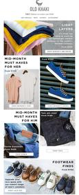 Old Khaki : Mid-Month Must Haves , page 1