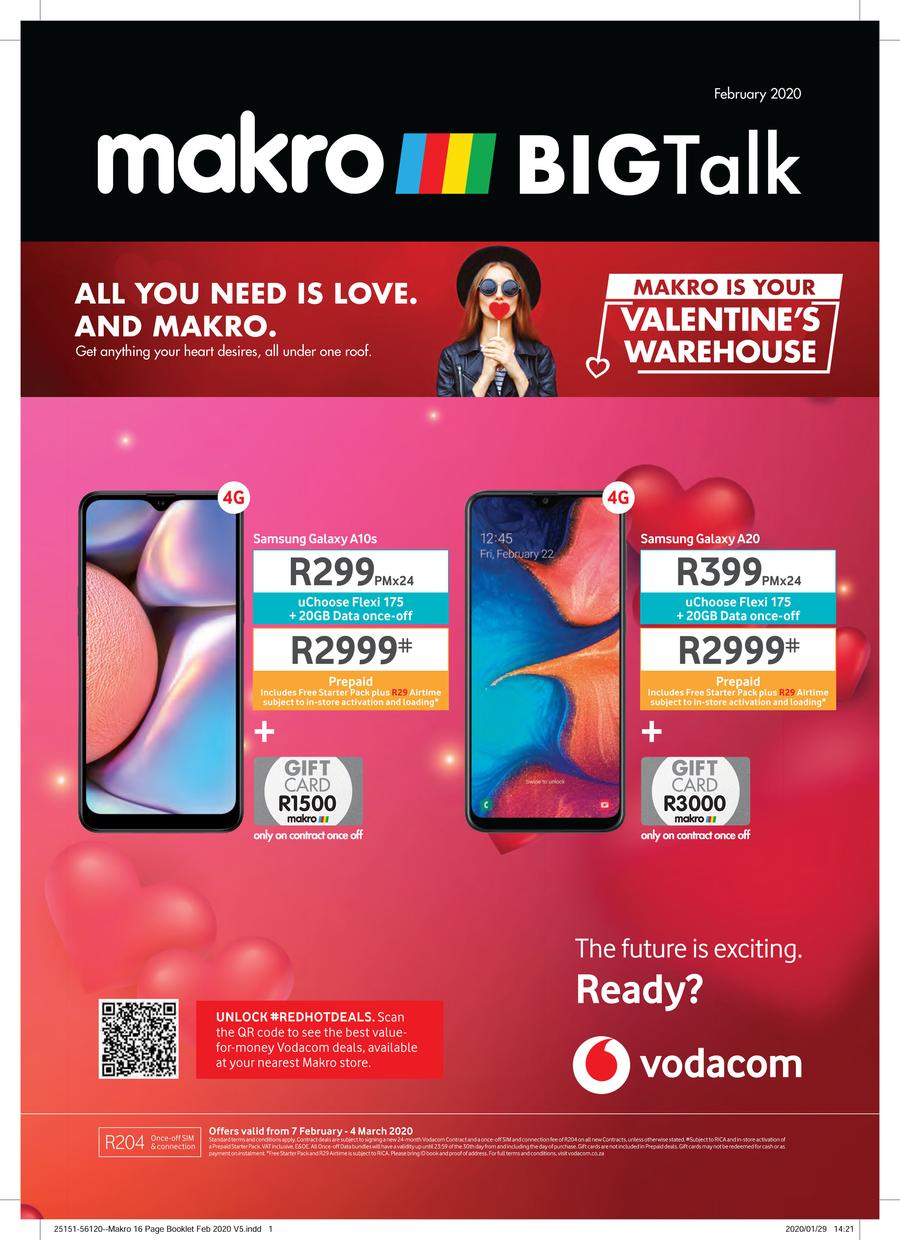Makro Vodacom 7 Feb 4 Mar 2020 Www Guzzle Co Za