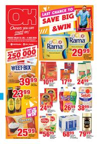 OK Foods Western Cape : Save Big & Win (23 July - 04 August 2020)
