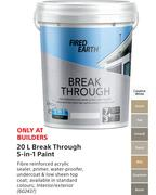 Fired Earth Break Through 5-In-1 Paint-20Ltr