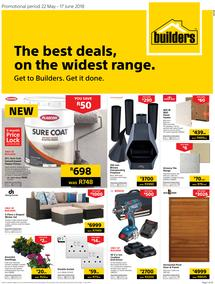 Builders WC & PE : The Best Deals On The Widest Range (22 May - 17 June 2018)