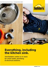 Builders : Everything, Including The Kitchen Sink (21 July - 14 September 2020)