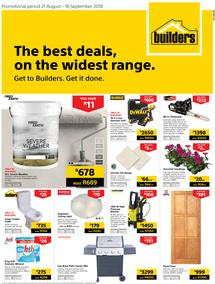 Builders Western Cape : The Best Deals On The Widest Range (21 Aug - 16 Sept 2018)