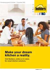 Builders : Make Your Dream Kitchen A Reality (13 October - 7 December 2020)