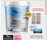 Fired Earth 20Ltr Break Through 5 In 1 Paint