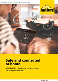 Builders : Safe And Connected At Home (27 October - 21 December 2020)