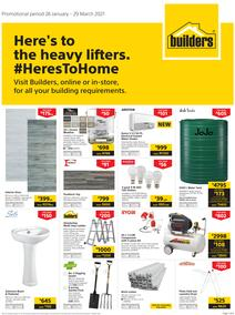 Builders : Here's To The Heavy Lifters (26 January - 29 March 2021)
