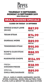 Breys Meat Market (19 Sep 2019 - While Stocks Last)