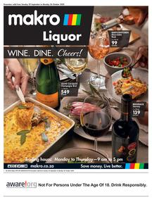 Makro : Wine (29 September - 26 October 2020)