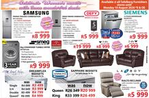 Tafelberg Furnishers : Celebrate Women's Month (04 August - 10 August 2020 While Stocks Last)