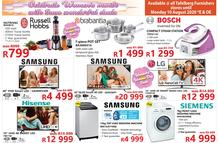 Tafelberg Furnishers : Celebrate Women's Month! (04 August - 10 August 2020 While Stocks Last)