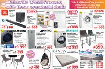 Tafelberg Furnishers Western Cape : Celebrate Women's Month's! (11 August - 16 August 2020 While Stocks Last)