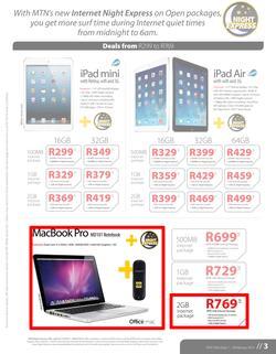 Special MacBook Pro MD101 Notebook+MTN Fastlink E3131- On