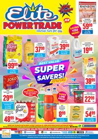 Elite Cash & Carry : Super Savers! (22 July - 09 August 2020)