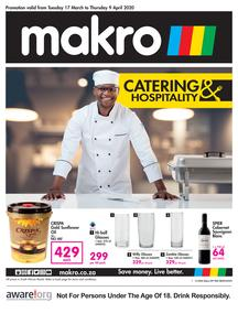 Makro : Catering (17 March - 09 April 2020)