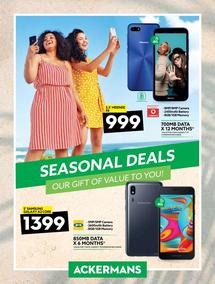 Ackermans : Seasonal Deals (18 Nov - 31 Dec 2019)
