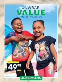 Ackermans : Unwrap Value This Festive Season (28 Nov 2019 - While Stocks Last)
