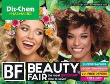 Dis-Chem : Beauty Fair (19 August - 13 September 2020)