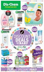 Dis-Chem : Discount Deals Just For Baby (17 July - 16 August 2020)