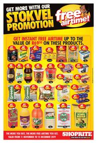 Shoprite Eastern Cape : Stokvel Promotion (11 Nov - 15 Dec 2019)