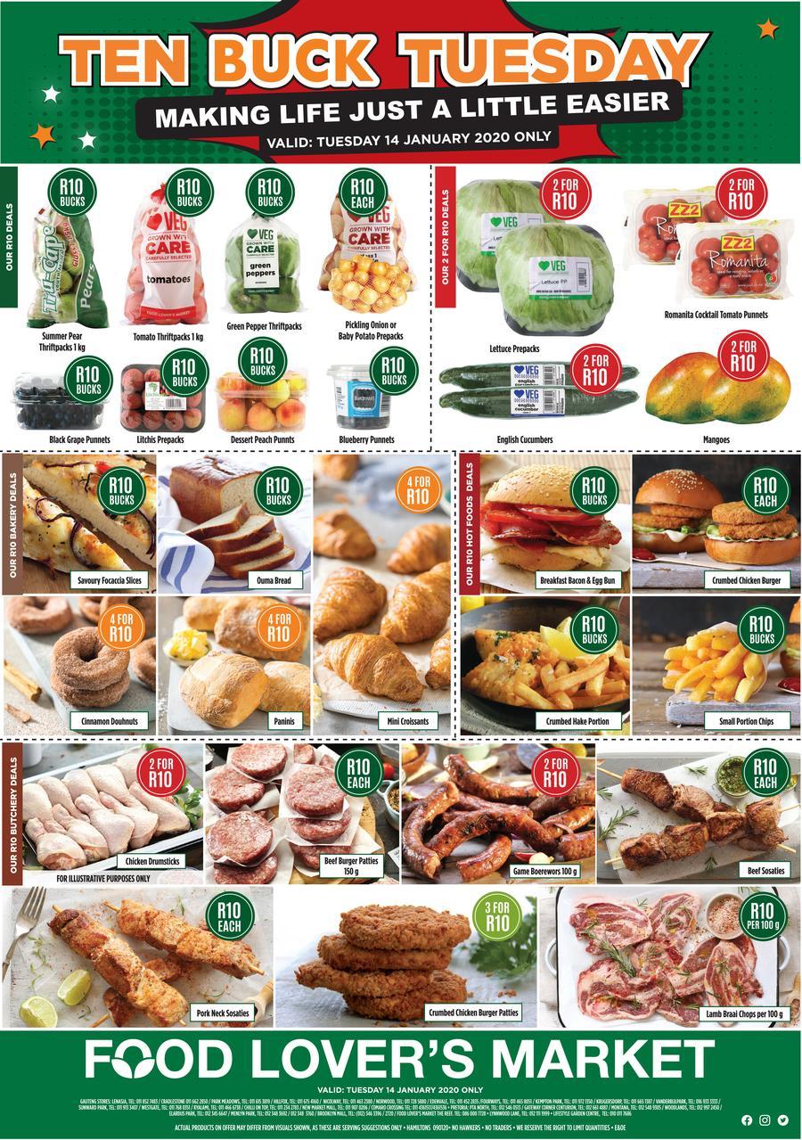 Food Lover S Market Gauteng 14 Jan 2020 Only M Guzzle Co Za