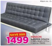 Special Benson Sleeper Couch Www Guzzle Co Za