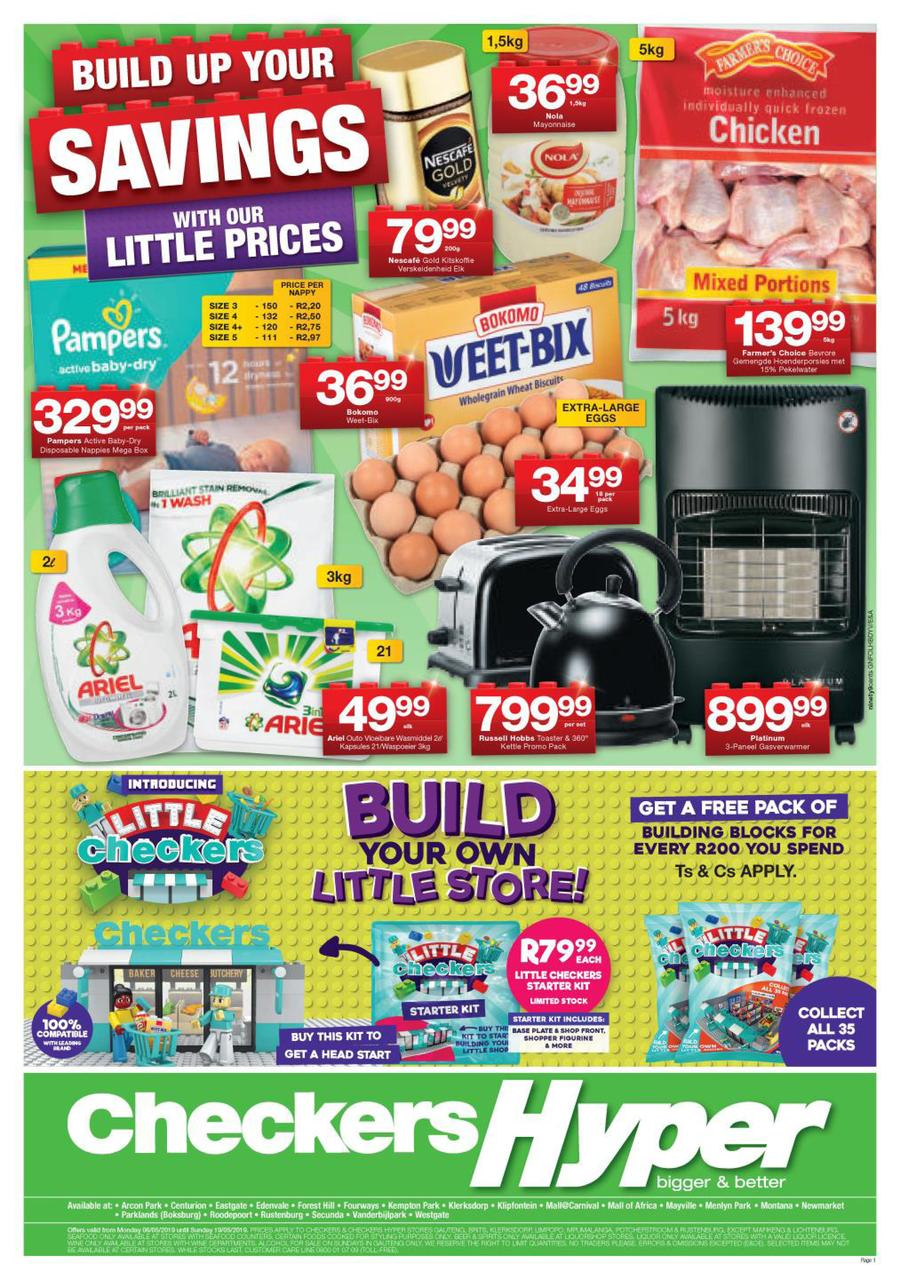 Checkers Hyper Gauteng : Hyper Specials (06 May - 19 May 2019) — m